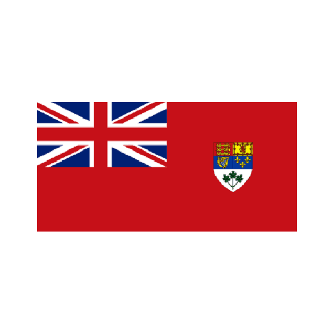 Canada WW11 5x3 Feet Polyester Flag with Eyelets - 150cm x 90cm