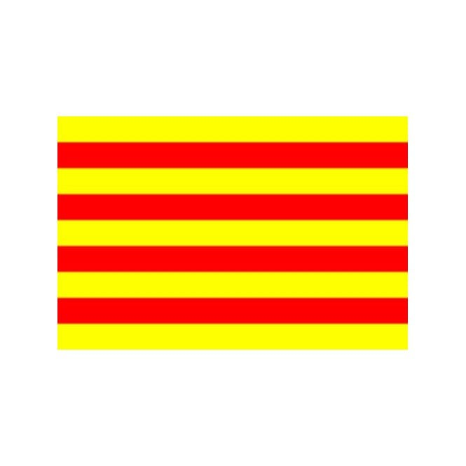 Catalonia 3x2 Feet Polyester Flag with Eyelets - 90cm x 60cm