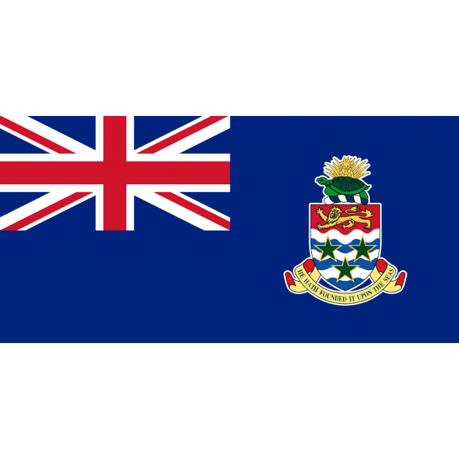 Cayman Islands 5x3 Feet Polyester Flag with Eyelets - 150cm x 90cm