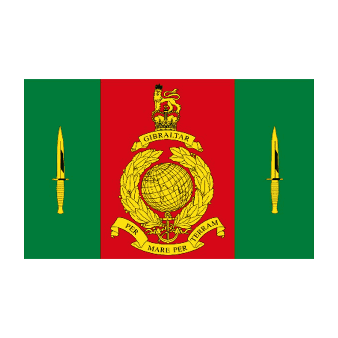 Commando Training Centre Royal Marines 5x3 Feet Polyester Flag with Eyelets - 150cm x 90cm