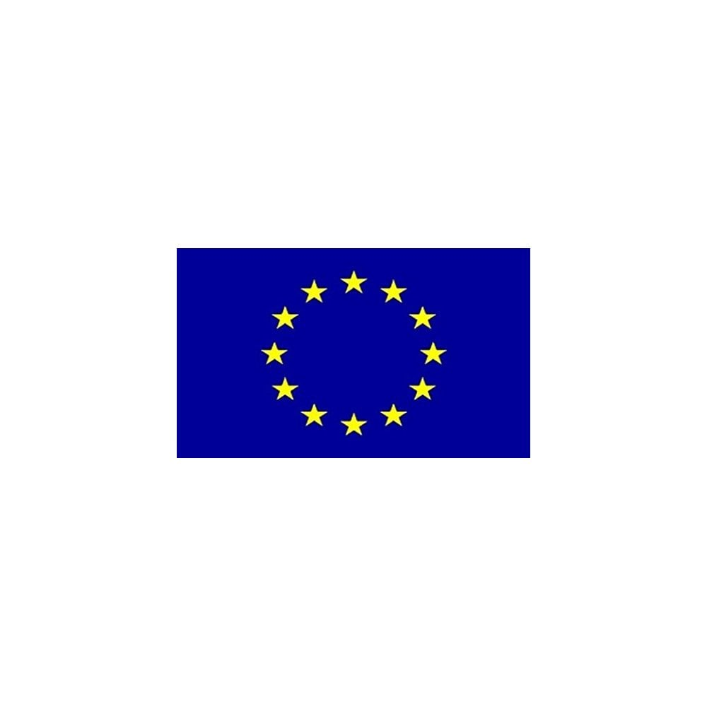 European Union 3x2 Feet Polyester Flag With Eyelets 90cm X 60cm World States And Areas Flags From Perfect Flags Uk