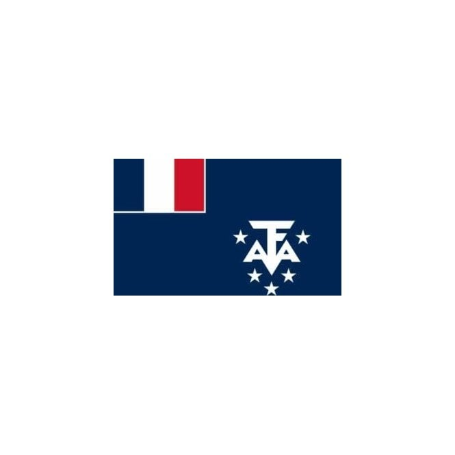 French Southern & Antarctic Land 5x3 Feet Polyester Flag with Eyelets - 150cm x 90cm
