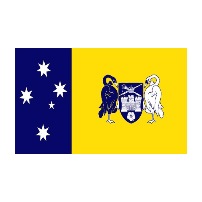 Australian Capital Territory 5x3 Feet Polyester Flag with Eyelets - 150cm x 90cm