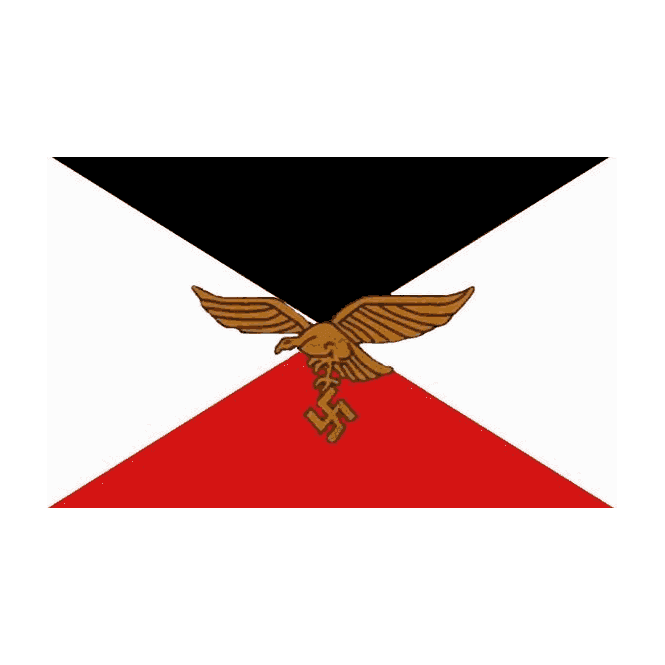 German Air Corps 5x3 Feet Polyester Flag with Eyelets - 150cm x 90cm