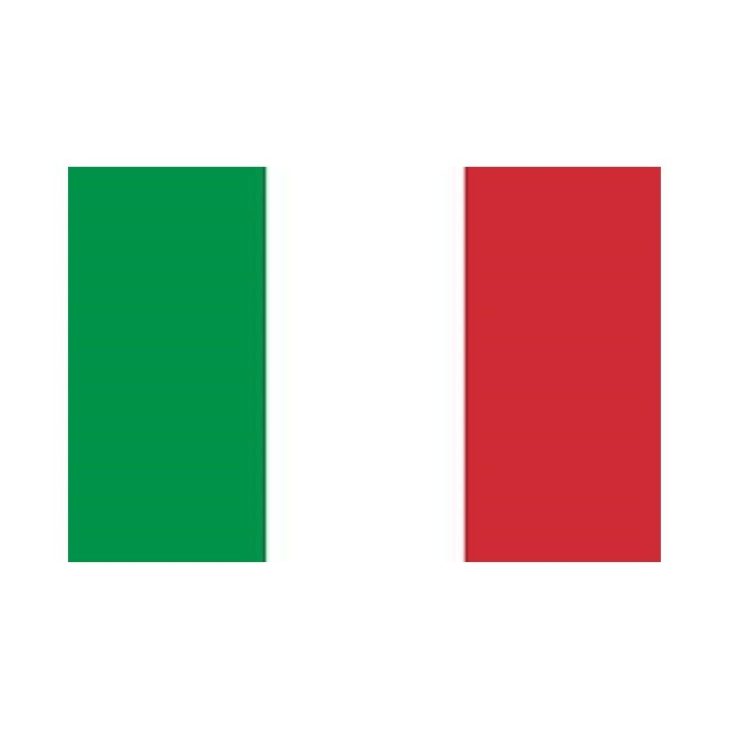 Italy 5x3 Feet Polyester Flag with Eyelets - 150cm x 90cm