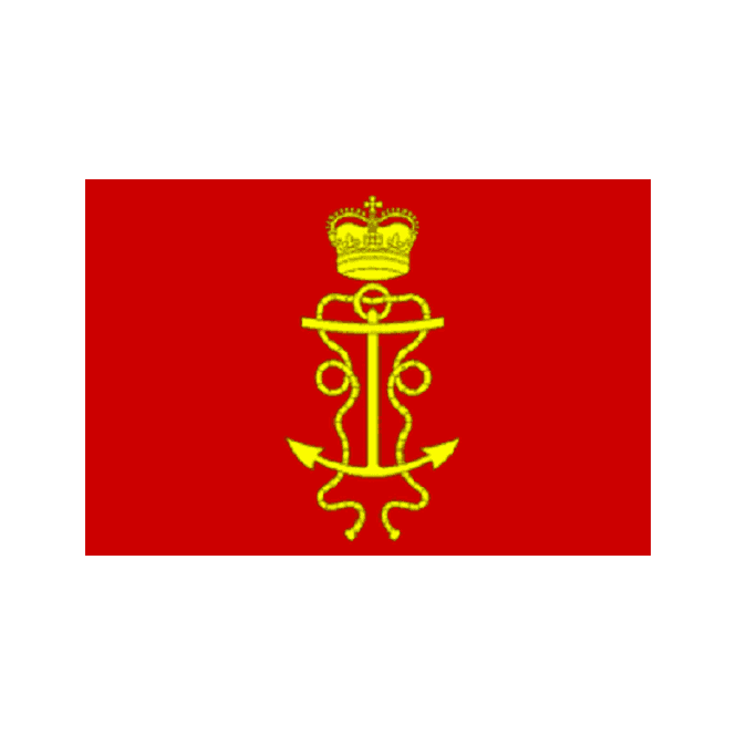 James II Lord High Admiral Masthead 1686 5x3 Feet Polyester Flag with Eyelets - 150cm x 90cm