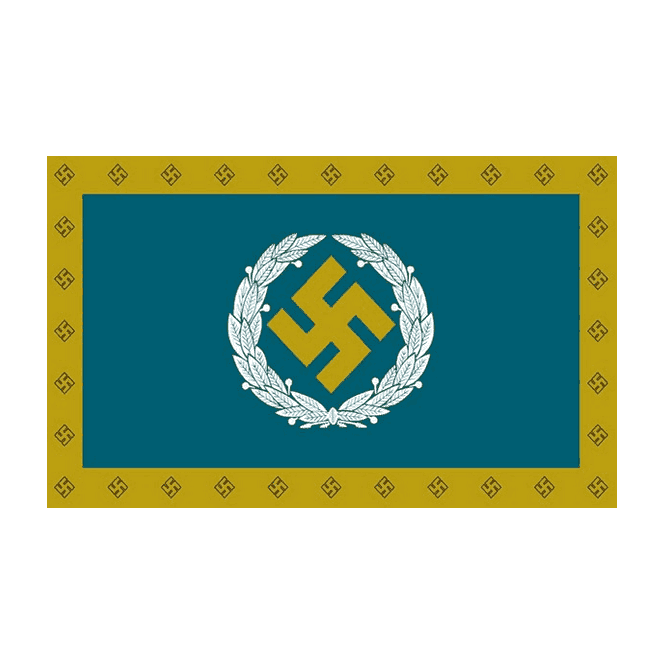 Luftwaffe Southern Command 5x3 Feet Polyester Flag with Eyelets - 150cm x 90cm