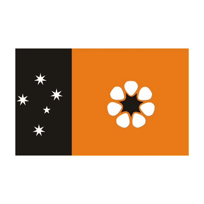 Northern Territory 5x3 Feet Polyester Flag with Eyelets - 150cm x 90cm
