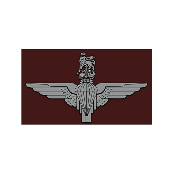 Parachute Regiment 3x2 Feet Polyester Flag with Eyelets - 90cm x 60cm