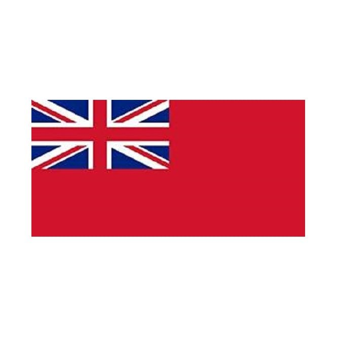 Red Ensign Flag 5x3 Feet Polyester Flag with Eyelets - 150cm x 90cm