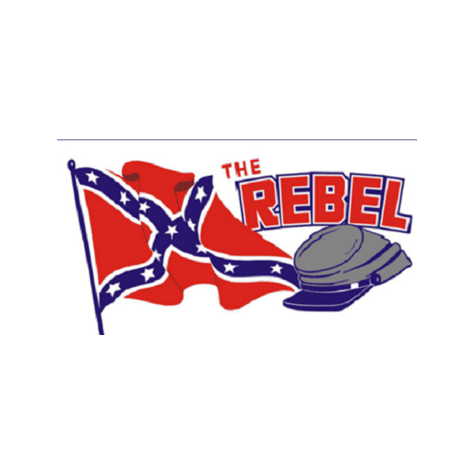 The Rebel 5x3 Feet Polyester Flag with Eyelets - 150cm x 90cm