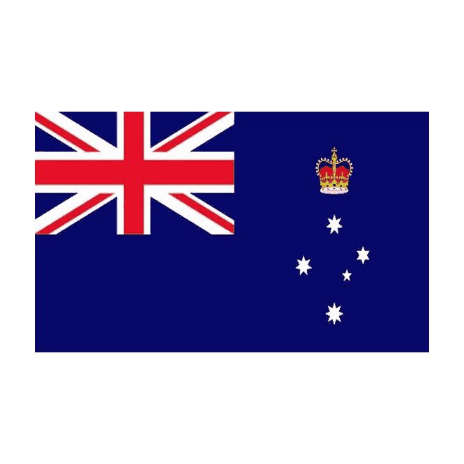 Victoria 5x3 Feet Polyester Flag with Eyelets - 150cm x 90cm