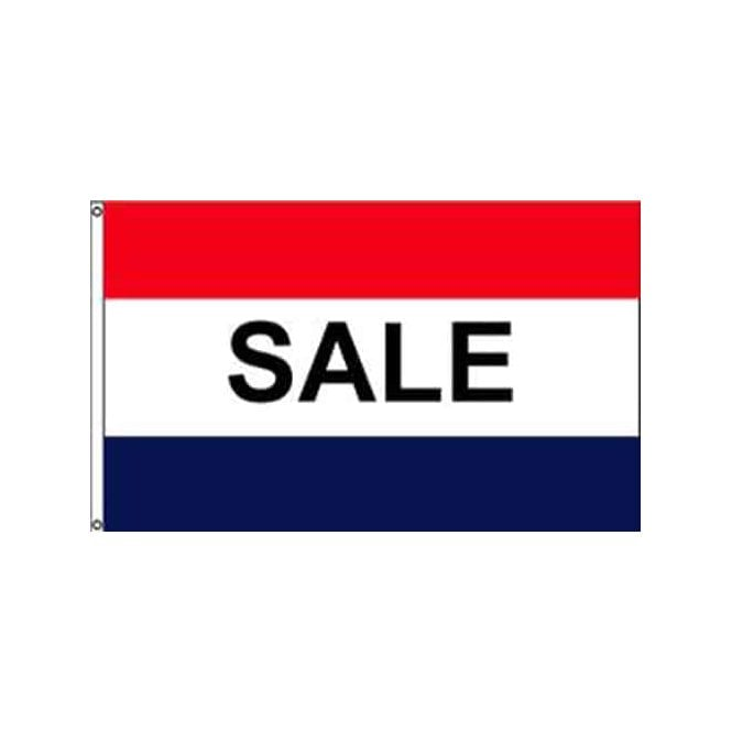Sale 5x3 Feet Polyester Flag with Eyelets - 150cm x 90cm