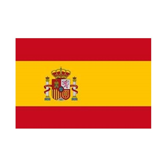 Spain State 8x5 Feet Polyester Flag with Eyelets - 250cm x 150cm