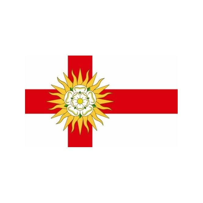 West Riding 5x3 Feet Polyester Flag with Eyelets - 150cm x 90cm