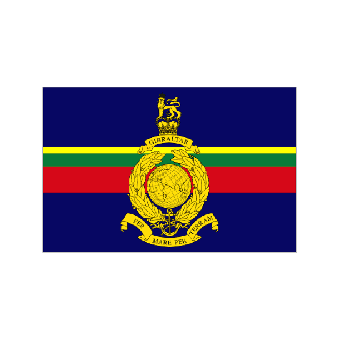 Royal Marines 3x2 Feet Polyester Flag with Eyelets - 90cm x 60cm
