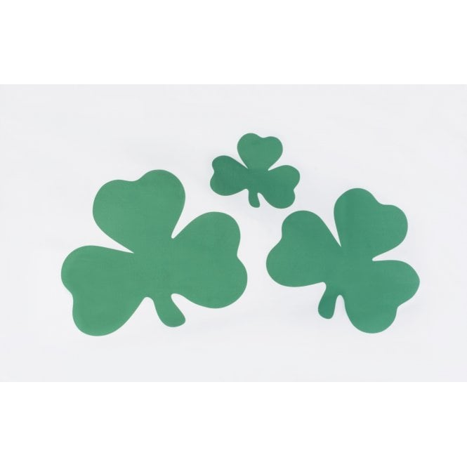 Shamrock 3x2 Feet Polyester Flag with Eyelets - 90cm x 60cm