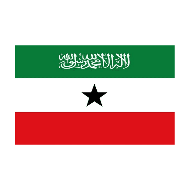 Somaliland 5x3 Feet Polyester Flag with Eyelets - 150cm x 90cm