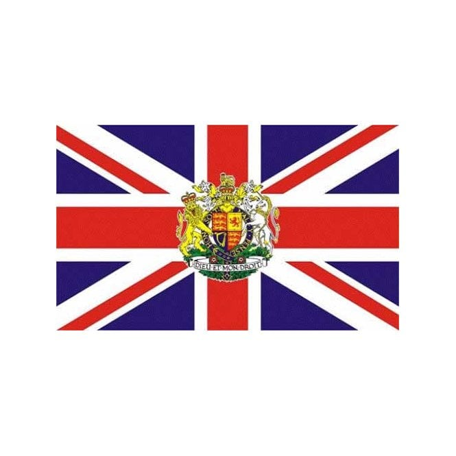 Union Jack Royal 3x2 Feet Polyester Flag with Eyelets - 90cm x 60cm