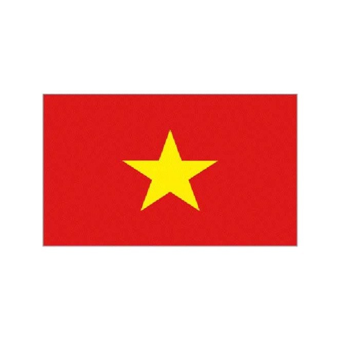 Vietnam 3x2 Feet Polyester Flag with Eyelets - 90cm x 60cm